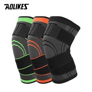 1 pcs Hot 3d Pressurizado de Fitness Em Execução de Ciclismo Bandage Joelho Suporte Chaves Elastic Nylon Sports Compression Pad