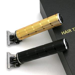 Pro Li T-Outliner Barber Shop Tondeuse électrique sans fil professionnel cheveux hommes 0mm KM Tondeuse à cheveux chauve-T9 machine de coupe de cheveux
