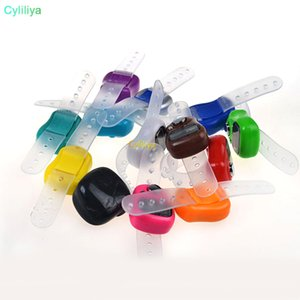 Mini El Band Tally Sayaç LCD Dijital Ekran Parmak Halkası Sayaç Elektronik El Yüzük Sayacı tutun