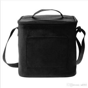 Çanta Tek Omuz Isı Koruma Taşınabilir Paket Buz Paketi 17 5njb1 tutulması Biberon Naylon İzoleli Soğutucu Fermuar Taze