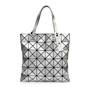 {} Logotipo original bolso de mano Mujer Doblado BAO BAO mujeres bolso de baobao bolso ocasional geométrica tela escocesa de la manera del bolso Bolso Mochila