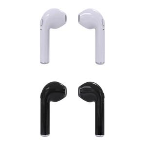 En la oreja los auriculares TWS inalámbrica Bluetoooth i7s Mini gemelos auriculares de música para auriculares Auricular con micrófono Para iOS Android Móvil