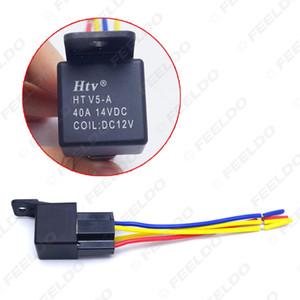 도매 자동차 도난 방지 장치 자동차 핀 12VDC 40 / 30A 끊김없는 릴레이 컨트롤러 와이어 하네스 어댑터 # 3883