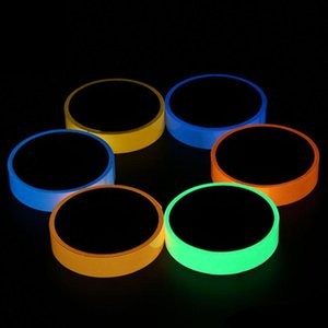 20mmx3m Reflective Glow Tape Self-adhesive Sticker Fluorescent Warning Tape Cycling Warning Security