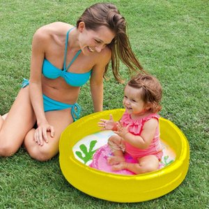61*15cm Children'S Home Use Paddling Pool Inflatable Square Swimming Pool Heat Preservation Kids Inflatable Baby