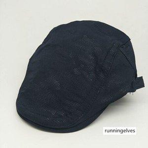 الرجال بلون قبعة وقبعة قطن قبعة مظلة في الهواء الطلق للمرأة