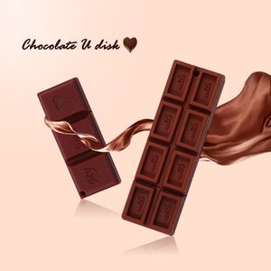 Criativo!Chocolate u disco 1GB 2GB 4GB 8GB 16GB 32GB USB Flash Drive USB 2, 0 unidades de Pen Flash Memory Stick, Prenda de Aniversário