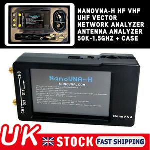 NanoVNA-H HF VHF UHF Vector Network Analyzer Antenna Analyzer 50K-1.5GHz & Case