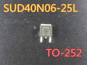 50pcs / lot Nova de efeito de campo SUD40N06-25L transistor TO-252 em frete grátis estoque