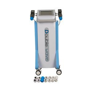 Doppel Kanäle Shock Wave Physiotherapie Schmerz Removal Shockwave Ausrüstung mit 14pcs Tipps für verschiedene Wählen