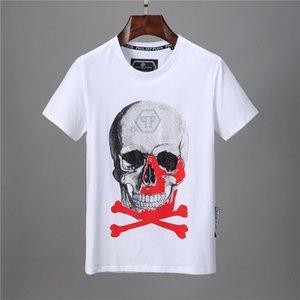 19SS desginer le sport Hip Hop Designs T-shirt manches courtes en coton crâne hommes d'hiver hip-hop Designers hommes femmes t chemises tops P88004