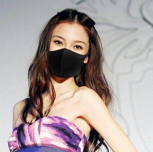 2020 NEW Рот маска пыле дышащий моющийся многоразовый Black Face Рот маска мужской стиль