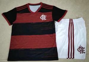 Kits crianças 20 21 Brasil CLUB camisa Internacional de Futebol Jersey Flamengo São Paulo CRUZEIRO Santos Corinthian Palmeiras Futebol Vasco da Gama