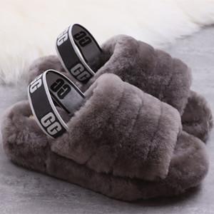 2020 горячие ЖЕНЩИНЫ Австралия WGG Fluff Да дизайнер тапочек Модные роскошные повседневные ботинки женские ботинки осень и зима Snow Boots US4-11