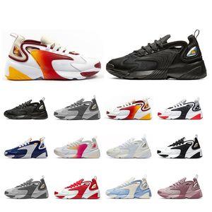 2019 Orignal Rainbow Кремово-белый nike Zoom 2K M2K мужские кроссовки Tekno Race Red Royal Синий Темно-серые мужские спортивные кроссовки для женщин