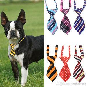 Polyester ipek pet kravat köpek headdress kravat ddjustable güzel papyon kedi kravat evcil hayvan bakım ürünleri 27 renk ücretsiz gemi
