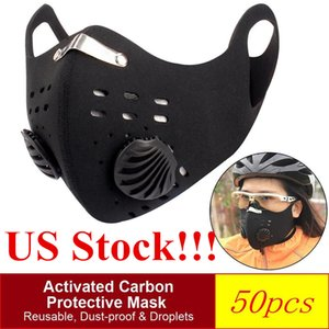 Lowest Price Designer Cycling Face Masks Protective Face Masks with Fliter Activated Carbon PM2.5 Anti-Pollution Dust Sport Reusable Masks