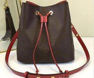 2020.new shoulder bags leather bucket bag women famous brands designer handbags high quality Cross Body designer backpack designer wallet