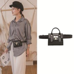 2020 manera de la cintura del bolso de las nuevas mujeres del pecho bolsas de dama bolsas de hombro Crossbody de lujo Mini bolsos Bolso de la playa