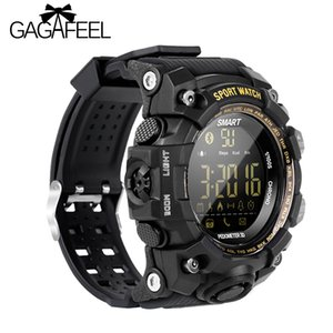 Gagafeel Ex16s Bluetooth Smart Watch Militare sportivo sportivo da uomo Guarda Camouflage verde Tpu cinturino esterno impermeabile orologio Y19051703
