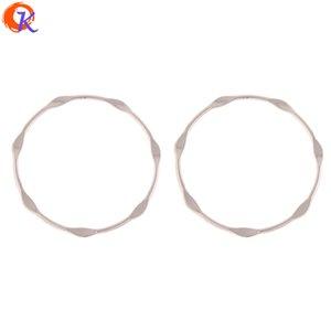 venta al por mayor 100 piezas 43mm fabricación de joyas / accesorios para pendientes / forma de anillo / aleación de zinc / bricolaje piezas de joyería / hechos a mano / resultados de pendientes