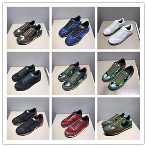 2020 новый роскошный дизайнер спортивная обувь камуфляж мужские и женские rockrunner случайные плоские ботинки обувь высокого качества размер 35-46 a3