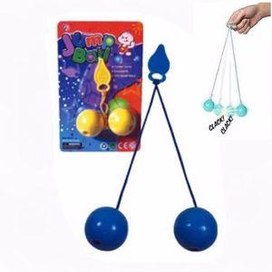 1 Set Tic Tac String Balance Clicker Jump Ball Bag Boy Girl Pinata Filler Birthday Party Favors gioco Scuola premio regalo Carnevale altro evento