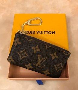França homens estilo Designer moeda bolsa de couro das mulheres senhora bolsa da moeda chave carteira mini-wallet caixa de número de série do saco de pó