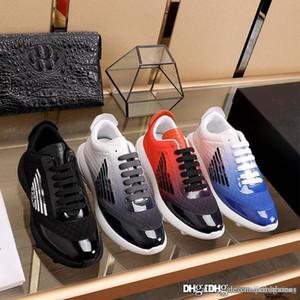 Lüks Armani Moda Erkekler Düşük üst Platformu Sneakers Hococal Eğitmenler Açık Ayakkabı Casual Yürüyüş Spor Eğitmenler Boyutu 38-45 için