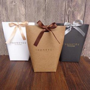 Cravatta Confezione Regalo Sacchetto pieghevole Wedding Birthiday sacchetti del partito di caramella dei monili della cravatta Imballaggio Bag Handmade Articolo Bag