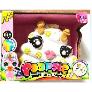 Dekompressionspielwaren Poopsie Slime Unicorne Dosen Sparkly Critters Poopsie Slime Licorne Einhorn Squishy Stressabbau Spielzeug
