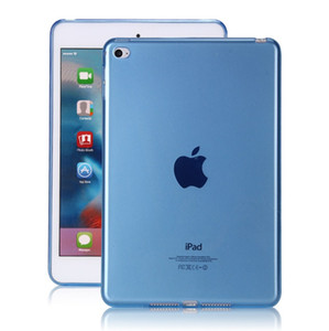 silicone protective cover tpu shell anti falling transparent shell Smart For ipad tablet Cover for ipad mini 1 2 3 4 5