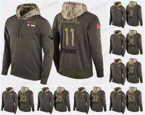 22 Nino Niederreiter Minnesota Wild Camo Militare Hood USA Flag con cappuccio Maglie Charlie Coyle Marcus Foligno J.T. Brown Felpe Felpe