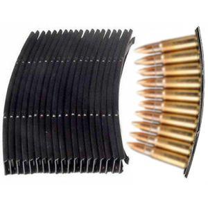 Táctico SKS Loader Steel Stripper Clips 10 Ronda 7.62X39 Ammo Loader Recargar Stripper Clips Caza Caza 10pcs / 20pcs