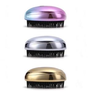 Districa la spazzola per capelli Rainbow Head Massage Shampoo Brush Confortevole lavaggio dei capelli Pettine Bagno per il corpo Spa Dimagrante Spazzole per massaggi R0470