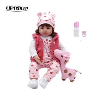 47cm / 58cm de vinilo silicona bebe niño renacer muñecas renacer renacer de silicona buenos regalos del bebé sorpresa de Navidad lol muñeca T200209