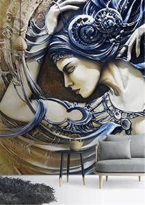 3d Wallpaper 3D tridimensionale in rilievo incantevole bellezza coperta portico sfondo muro D sfondo decorazione della parete murale carta da parati