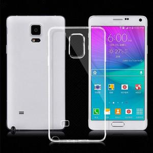 Ultra-sottile Samsung S9 S8 S7 S6 S5 PLUS cassa del telefono mobile BORDO NOTE9 NOTE8 NOTA5 J8 / A9star lite J6PLUS cassa del telefono mobile del silicone trasparente