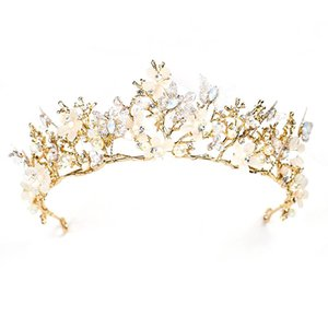 Baroque Crown Hair Flower Flower Headwear Bridal Hair Accessories Crown Flower Petal Headwear Headband