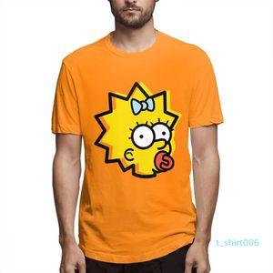 Fashion Designer Shirts Hip Hop Hommes Femmes Chemises couples COURTES Les Simpsons T-shirts imprimés Casual Mens Topsc2501t06