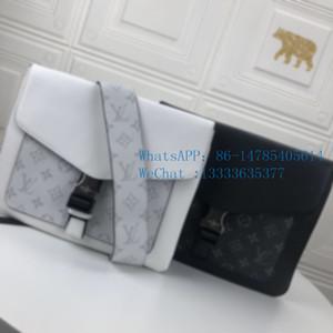 Top-30413 2019 New Versatile men's business clutch large capacity one-shoulder bag cross-body envelope bag