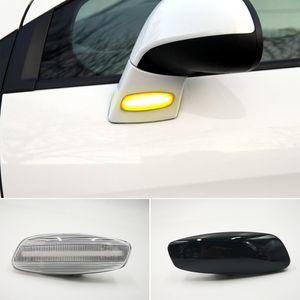 2 шт. Динамические светодиодные боковые маркеры света поворот сигнал световой мигарь для Citroen C3 C4 C5 DS3 DS4 для Peugeot 207 308 3008 5008 RCZ