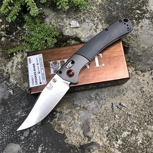 Lo nuevo de BENCHMADE cuchillo de bolsillo plegable 15080-1 S30V G10 de la lámina de la manija camping C81 BM 15080 943 940-1 3300 Herramientas BM42 BM940 EDC