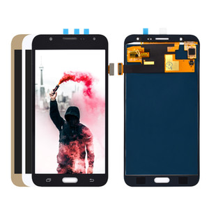 Para Samsung Galaxy J7 2015 J700 pode ajustar o brilho do LCD SM-J700F J700M J700H / DS LCD + Touch Screen digitador Assembl