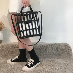 NIGEDU Hollow ковш сумка для сумки женщин Известных брендов PU кожи женщины сумки 2019 нового пляжа для даст Totes