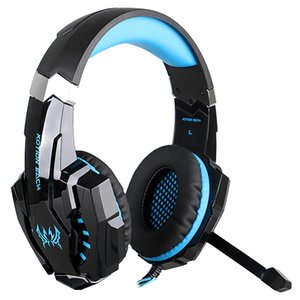 KOTION EACH G7500 Gaming Headphones casque PC Gamer Stereo Game Headset with Mic LED Light for Laptop Tablet   PS4 Gamepad