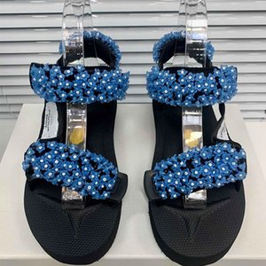 New Fairy Women Summer Shoes Slides Beach Indoor Flat Platform Sandals Slippers House Flip Flops Spike Out Punk Gladiator Shoes