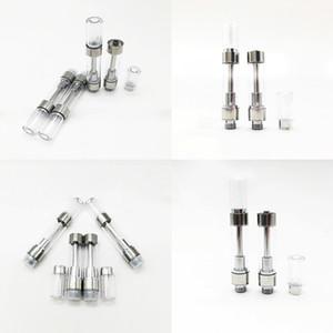 M6T Carts vapes cartucce Schiuma imballaggi vuoti serbatoio dell'olio Press punta atomizzatore Dank / cronica Runtz Vape Penne 0,8 / 1,0 ML ceramica