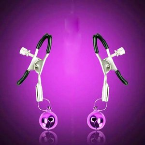 PECTUO C18112701 Abrazaderas Nipple Clips de acero Newest Toys Sex for Coqueting Sex Product Game Women Adult NHBQL