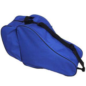Racing patín de hielo bolsa para adultos de los niños Patines mochila de un solo hombro bolsa de patinadores en línea Bolsas